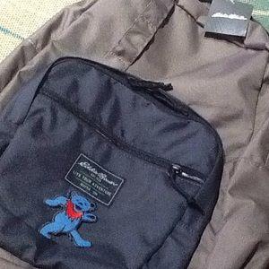 NWT Eddie Bauer Grateful Dead Blues Bear Backpack